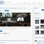 Blog - AVINA at the Climate Change Conference