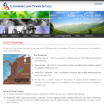 Coal Properties - Colombia Clean Power & Fuels Inc.